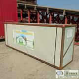 COMMERCIAL GRADE STORAGE BUILDING, 70 X 30 X 16. ITEM APPEARS UNUSED