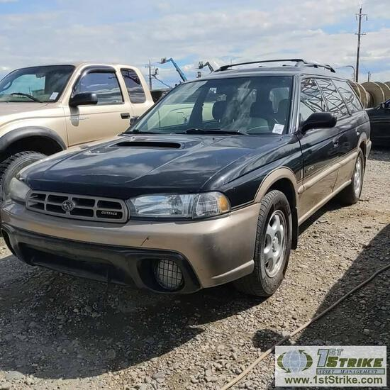 1999  SUBARU OUTBACK LEGACY LIMITED, 2.5L GAS, AUTO TRANS, AWD, 4 DOOR, WAGON. RECONSTRUCTED TITLE
