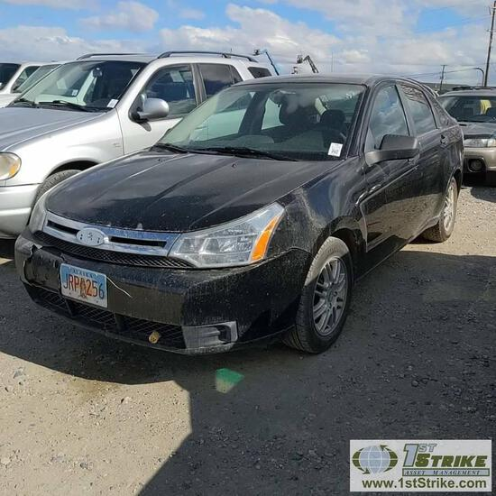 2009 FORD FOCUS, 2.0L GAS, FWD, 4 DOOR. RECONSTRUCTED TITLE