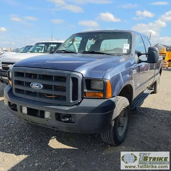 2007 FORD F-250 SUPERDUTY XL, 6.0L POWERSTROKE, 4X4, CREW CAB, LONG BED. UNKNOWN MECHANICAL PROBLEMS