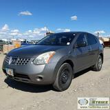 2009 NISSAN ROGUE S, 2.5L GAS, FWD, 4-DOOR. ENGINE REPLACED IN 2019, UNKNOWN MECHANICAL PROBLEMS, TR
