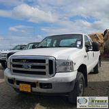 2006 FORD F-250 XLT, 6.8L TRITON, 4X4, EXTENDED CAB, LONG BED