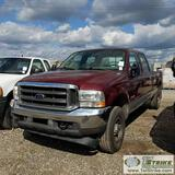 2004 FORD F-350 SUPERDUTY XLT, 6.0L POWERSTROKE, 4X4, CREW CAB, LONG BED. UNKNOWN MECHANICAL PROBLEM
