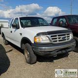 1999 FORD F-150 XL, 5.4 TRITON, 4X4, EXTENDED CAB, LONG BED. UNKNOWN MECHANICAL PROBLEMS. NO KEY.