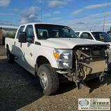 2011 FORD F-350 SUPERDUTY XL, 6.7L POWERSTROKE, 4X4, CREW CAB, LONG BED. UNKNOWN MECHANICAL PROBLEMS