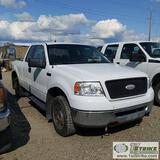 2006 FORD F-150 XLT, 5.4L TRITON, 4X4, EXTENDED CAB, SHORT BED. UNKNOWN MECHANICAL PROBLEMS