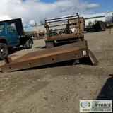 FLAT BED, STEEL, FITS FORD F-250 8FT BED