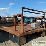 FLAT BED, STEEL, FITS FORD F-350 DUALLY LONG BED