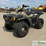 ATV, 2004 POLARIS SPORTSMAN 500, ON DEMAND 4X4. UNKNOWN MECHANICAL PROBLEMS