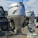 BOAT MOTOR, HONDA 75HP OUTBOARD, FOUR STROKE, WITH DETACHED PROP LOWER UNIT