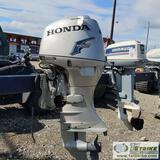 BOAT MOTOR, HONDA40HP OUTBOARD,FOUR STROKE, PROP