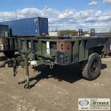 UTILITY TRAILER, 2007 M1101, 7FT X 7FT BED, SINGLE AXLE, 1940LB CAPACITY