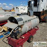 HEATER, 2000 FROSTFIGHTER OHV500, 420,000 BTU/HR, 115 V, INDIRECT OIL FIRED