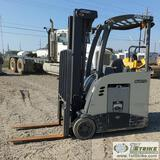 FORKLIFT, 2010 CROWN RC5535-35, STAND UP TYPE, OROPS, 36V ELECTRIC, 2500LB CAPACITY, 208 IN LIFT HEI