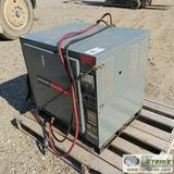BATTERY CHARGER, HOBART MODEL 500C3-18, 36VDC. 208/240/480VAC, 3 PHASE