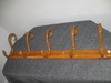 5 Hook Hardwood Coat Rack