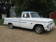 '66 Chevy Custom 10 Pickup- all orginal