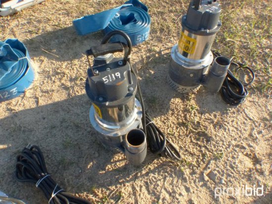 NEW MUSTANG MP4800 2IN. SUBMERSIBLE PUMPS NEW SUPPORT EQUIPMENT