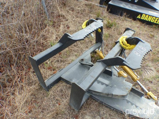 NEW MID-STATE TREE SHEAR SKID     Auctions Online | Proxibid
