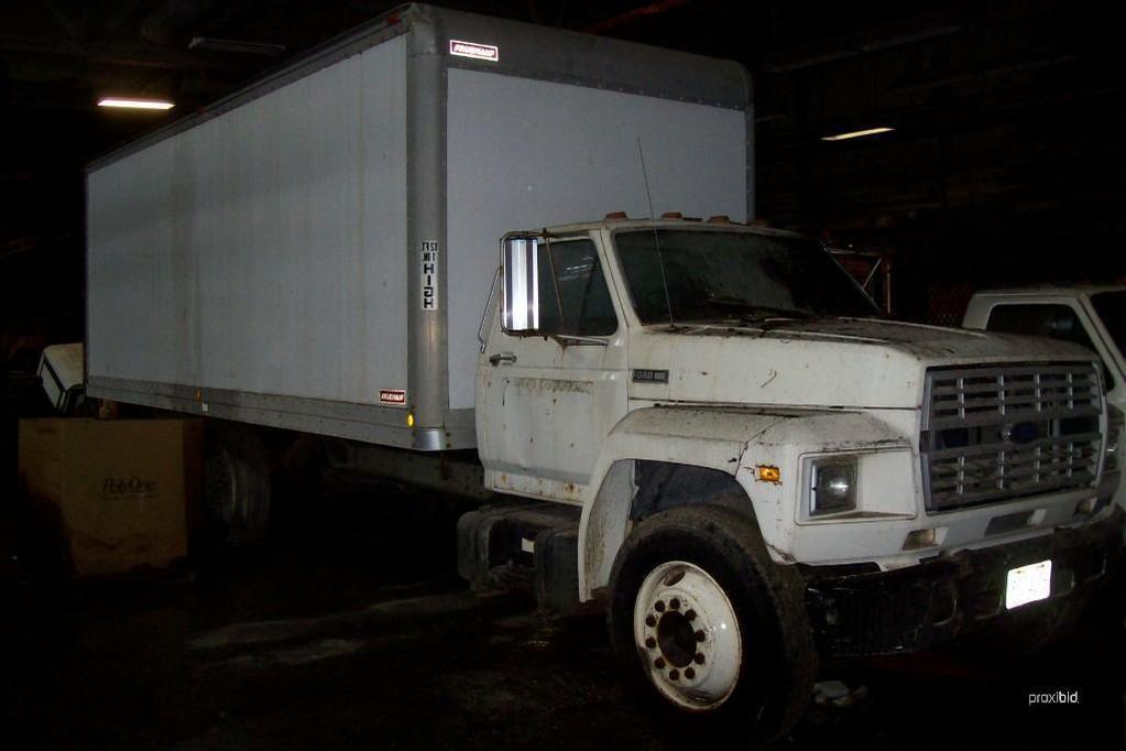 ford f700 van truck vn n a pow auctions online proxibid rh proxibid com ford f700 manual transmission oil 1993 ford f700 owners manual