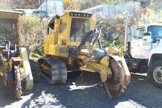 2013 RAYCO T360 STUMP CUTTER SN:10113 powered by Cummins QSM111 diesel engine, equipped with EROPS,