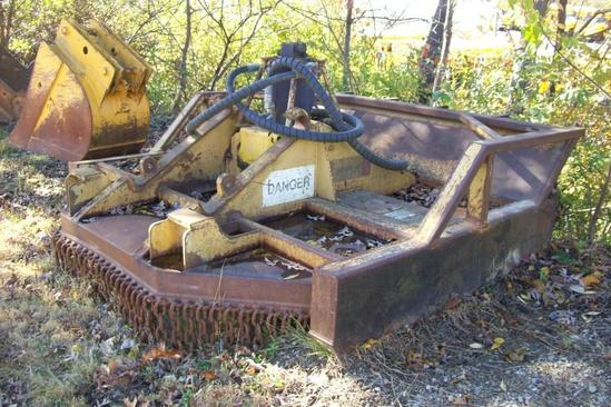 ROTARY-AX MOWER FORESTRY EQUIPMENT--------ALEX LYON & SON DOES NOT OFFER SHIPPING ON THIS LOT.