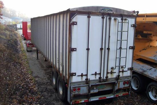 2004 PEERLESS WALKING FLOOR CHIP TRAILER VN:A53669 equipped with 48ft. X 8ft. Keith walking floor,