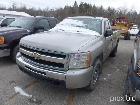 2009 CHEVY SILVERADO 1500 PICKUP TRUCK VN:137381 4x4, powered by gas engine, equipped with automatic