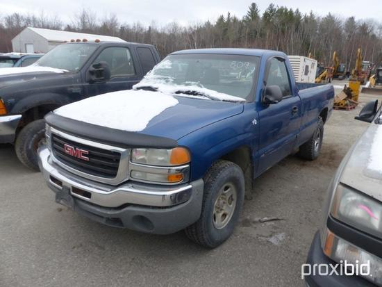 2003 GMC 1500 PICKUP TRUCK VN:1GTEK14V53E169174 4x4, powered by 5.3L gas engine, equipped with autom