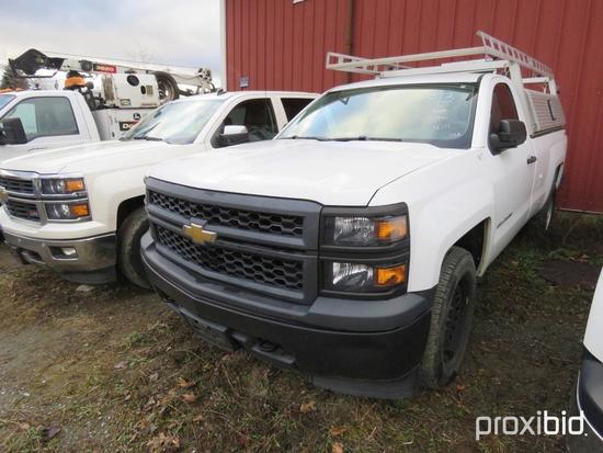 2014 CHEVY 1500 SILVERADO PICKUP TRUCK VN:414165 4x4, powered by 4.3L gas engine, equipped with