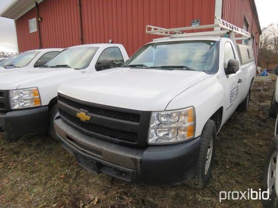 2012 CHEVY 1500 SILVERADO PICKUP TRUCK VN:342550 4x4, powered by 4.3L gas engine, equipped with