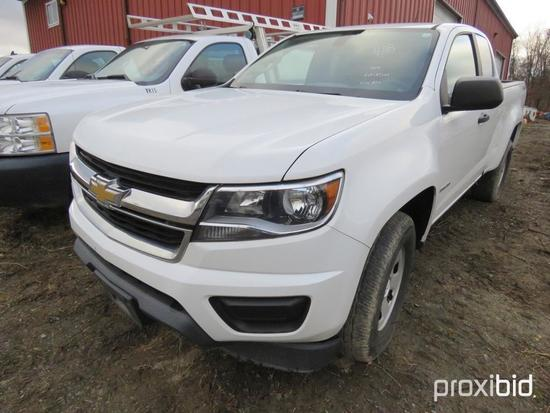 2016 CHEVY COLORADO PICKUP TRUCK VN:189263 4x4, powered by 2.5L gas engine, equipped with automatic