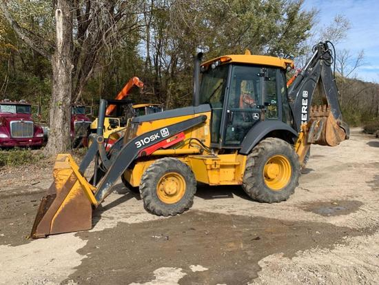 2015 JOHN DEERE 310 SUPER K TRACTOR LOADER BACKHOE SN:CFE276264 4x4, powered by John Deere diesel