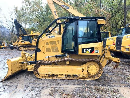 2019 CAT D4K2XL CRAWLER TRACTOR SN:JKM207195 powered by Cat diesel engine, equipped with EROPS, air,