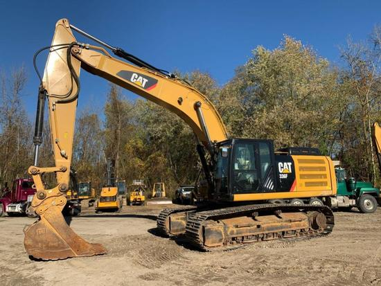 2015 CAT 336FL HYDRAULIC EXCAVATOR SN:RKB00920 powered by Cat diesel engine, equipped with Cab, air,
