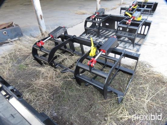 NEW ALLSTAR 78IN. E-SERIES ROOT GRAPPLE SKID STEER ATTACHMENT