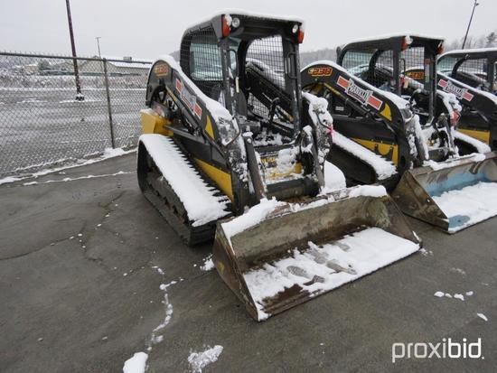 2016 NEW HOLLAND C238 RUBBER TRACKED SKID STEER SN:NGM416736 powered by diesel engine, equipped with