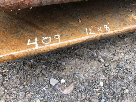 12FT. X 8FT. X 1IN. ROAD PLATE