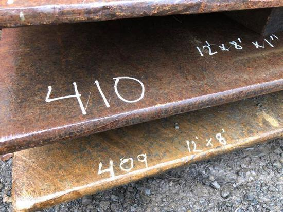 12FT. X 8FT. X 1IN. ROAD PLATE ROAD PLATE