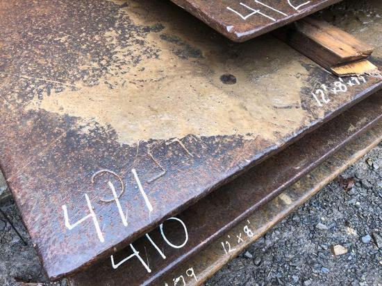 12FT. X 8FT. 3/4IN. ROAD PLATE ROAD PLATE