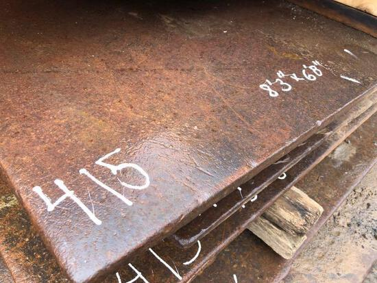 8FT.4IN. X 6FT.9IN. ROAD PLATE ROAD PLATE