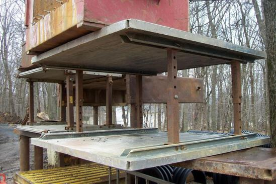EFFICIENCY 6FT.X 8FT. X 3IN. ALUMINUM TRENCH BOX W/ EXTRA SPREADERS TRENCH BOX