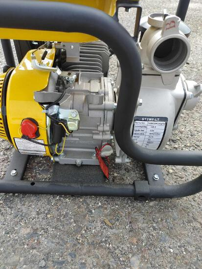 NEW STANLEY 7HP NON-SUBMERSIBLE 2IN. DISPLACEMENT WATER PUMP NEW SUPPORT EQUIPMENT