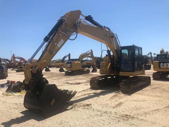 DEMO CAT 325FLCR HYDRAULIC EXCAVATOR powered by Cat diesel engine, equipped with Cab, air, heat, rea