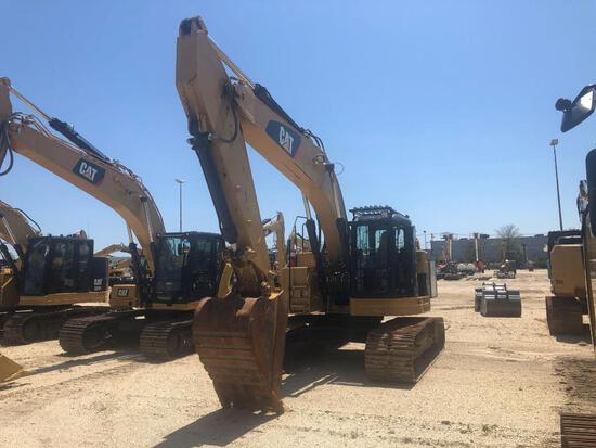 2014 CAT 321DLCR HYDRAULIC EXCAVATOR SN:MPG00984 powered by Cat diesel engine, equipped with Cab, ai