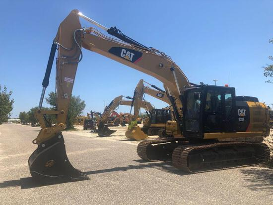 2018 CAT 320FL HYDRAULIC EXCAVATOR SN:NHD10420 powered by Cat diesel engine, equipped with Cab, air,