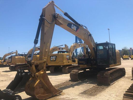2013 CAT 320ERR HYDRAULIC EXCAVATOR SN:TFX00743 powered by Cat diesel engine, equipped with Cab, air