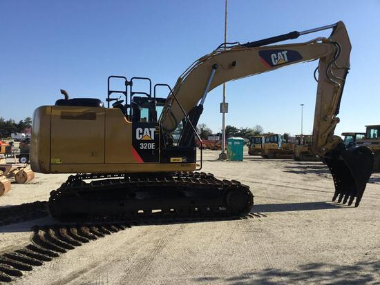 2013 CAT 320EL HYDRAULIC EXCAVATOR SN:WBK02350 powered by Cat diesel engine, equipped with Cab, air,
