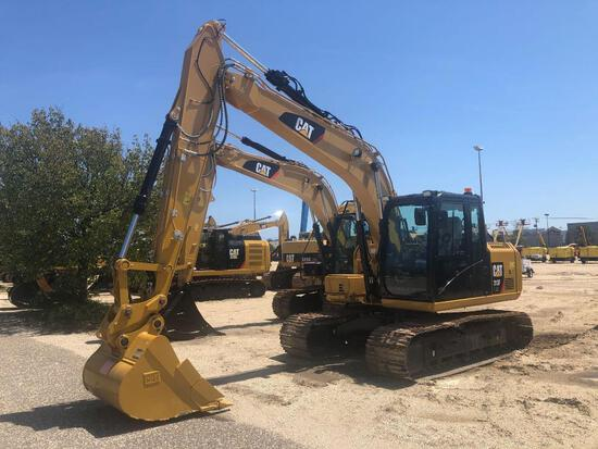 UNUSED CAT 313FL HYDRAULIC EXCAVATOR powered by Cat diesel engine, equipped with Cab, air, rear came