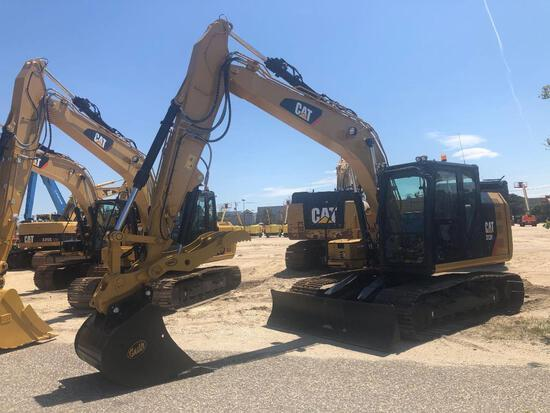 2018 CAT 313FL HYDRAULIC EXCAVATOR powered by Cat C4.4B diesel engine, equipped with Cab, air, front
